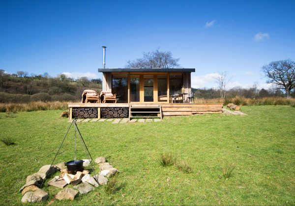 Glamping in Wales for Couples | Serenity Lodge Wales